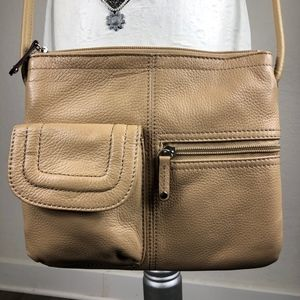 TIGNANELLO | Crossbody Bag | Pebble Leather